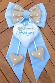 coccarda per la nascita Giorgio