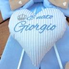 cuore fiocco nascita giorgio