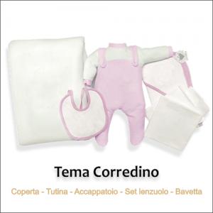 lista corredino neonata online