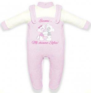tutina neonata orsetto da personalizzare