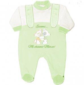 tutina neonato orsetto da personalizzare