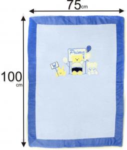 le misure di una coperta ciniglia neonato