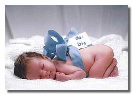 neonato dono di dio