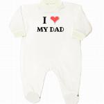 romper newborn I love my dad