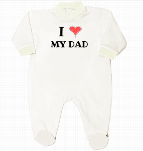 romper newborn I love my dad