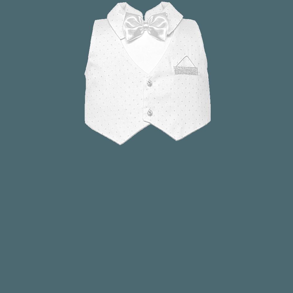 gilet bianco