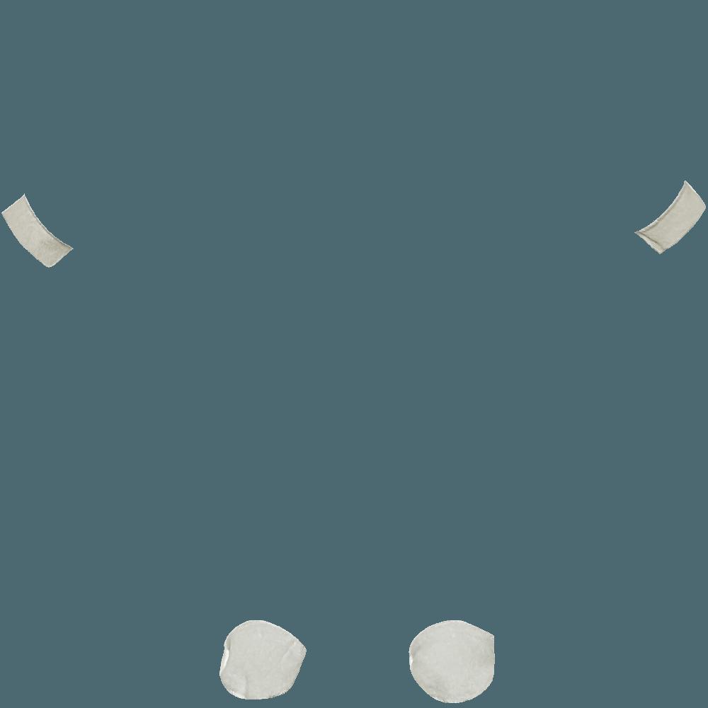 Polsini e piedini grigi