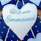 fiocco nascita Emanuel