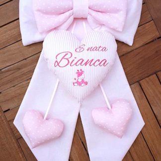 fiocco nascita bimba Bianca