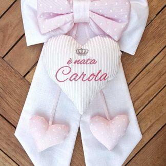 fiocco nascita bimba Carola