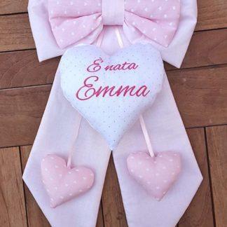 fiocco nascita bimba Emma