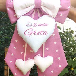 fiocco nascita bimba Greta