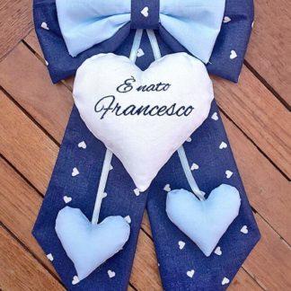 fiocco nascita bimbo Francesco