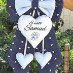 Fiocco nascita è nato Samuel
