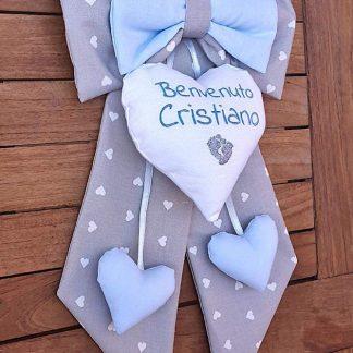 fiocco nascita bimbo Cristiano