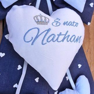fiocco nascita bimbo Nathan
