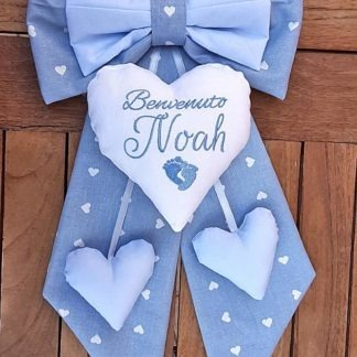 fiocco nascita bimbo Noah