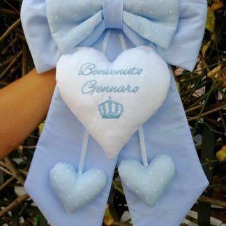 coccarda nascita bimbo Gennaro