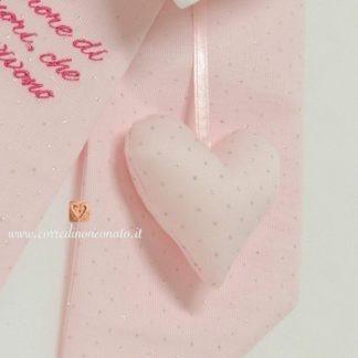 tessuto rosa glitterato