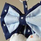 fiocco nascita bimbo gabriele blu