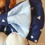 fiocco nascita bimbo leonardo colore blu azzurro