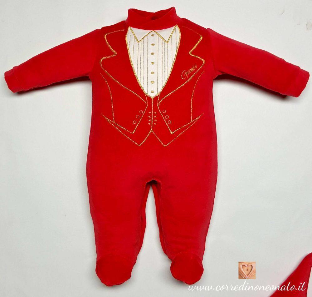 la più grande selezione intera collezione migliore vendita abbigliamento neonato natale per Gioele