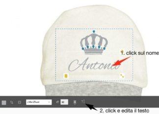 cappello personalizzabile