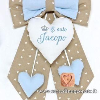 fiocco personalizzato jacopo