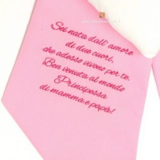 tessuto rosa