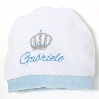 cappellino bimbo ricamato
