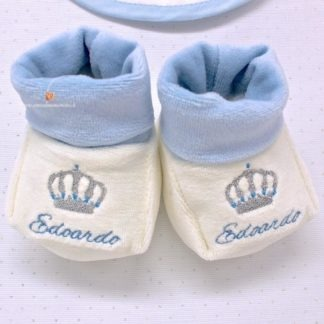Babbucce neonato per Edoardo