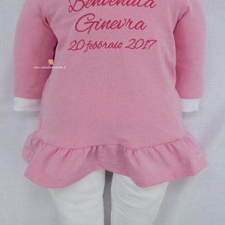 Vestito con ghetta per Ginevra
