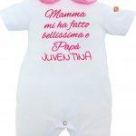 Pagliaccetto estivo Juventus per neonata