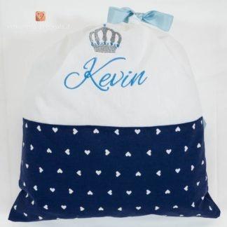 Sacco nascita con corona per Kevin