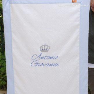 Coperta glitterata elegante per Antonio Giovanni