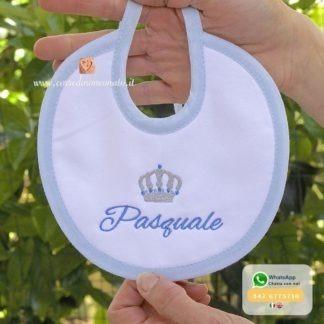 Bavetta con corona per Pasquale