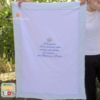 Coperta di cotone personalizzata per Pasquale