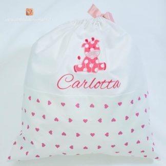 Sacco nascita con giraffa per Carlotta