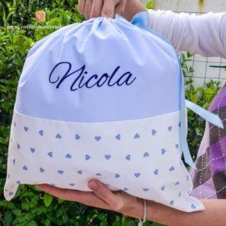 Sacco nascita per Nicola