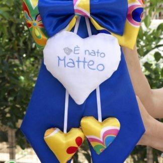 Fiocco nascita originale a Fantasia per Matteo.