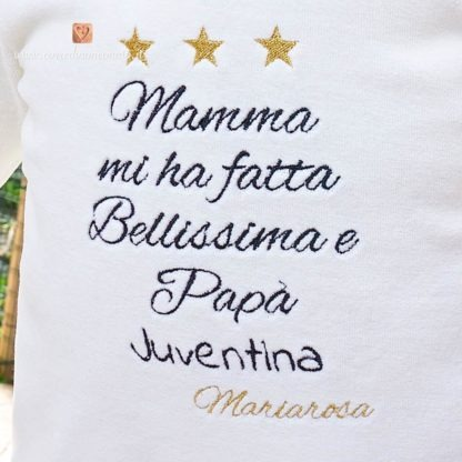 Tutina Juventus per Mariarosa