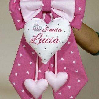 Fiocco per la nascita di Lucia