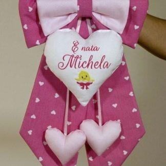 Coccarda nascita per Michela
