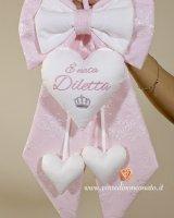 PR Fiocco nascita in pizzo rosa Diletta