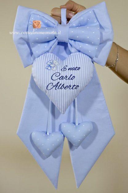 Coccarda nascita Carlo Alberto
