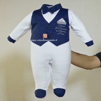Elaegante capo d'abbigliamento per neonato Ryan