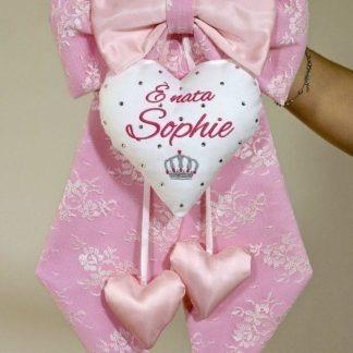 Coccarda nascita per Sophie