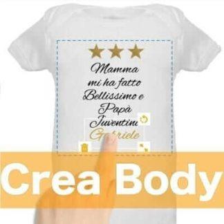 body da personalizzare online