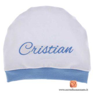 cappellino ricamato Cristian