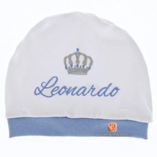 Cappellino Leonardo con corona.